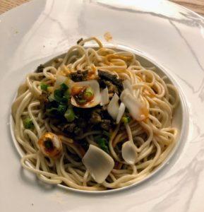 Q by Peter Chang dan dan noodles