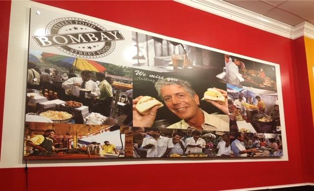 Bombay Street Food mural