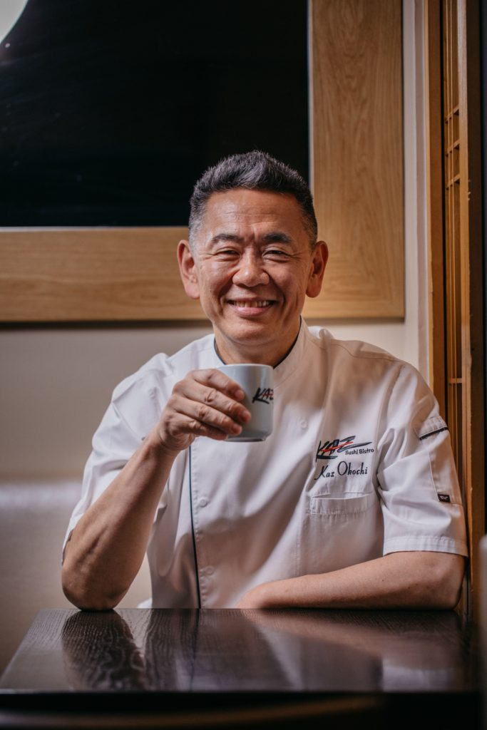 Chef Kaz Okochi