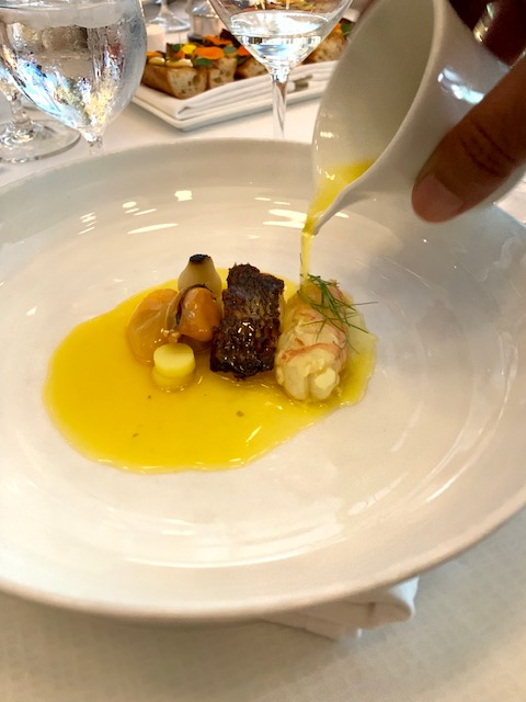 The Oval Room bouillabaisse
