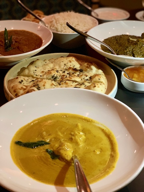 Commonwealth Indian yellow crab curry, naan, Kashmiri lamb and more