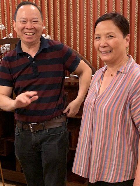 Mama Chang Chefs Peter and Lisa Chang