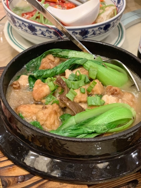 Mama Chang meatball casserole