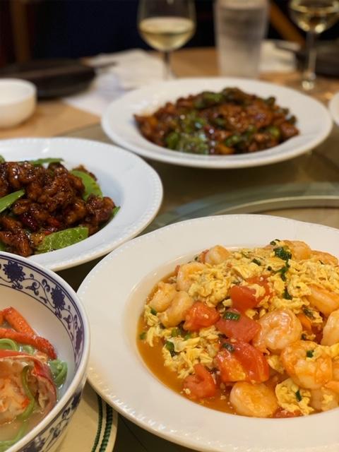 Mama Chang tomato egg scramble