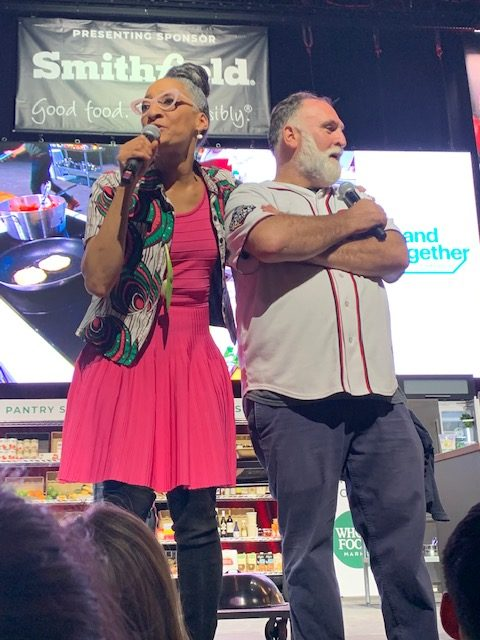DC Capital Food Fight 2019 Carla Hall and Jose Andres