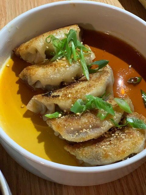 Dumplings at Anju